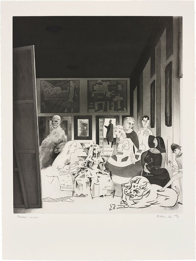 Richard Hamilton, 'Picasso's Meninas, from Hommage à Picasso', 1973