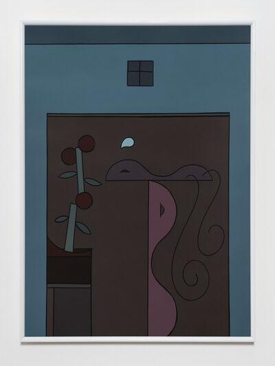 Sean Gannon, 'Tomato plant, Adjacent a balance', 2017