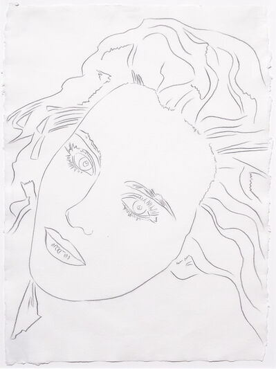 Andy Warhol, 'Portrait of Isabelle', 1986