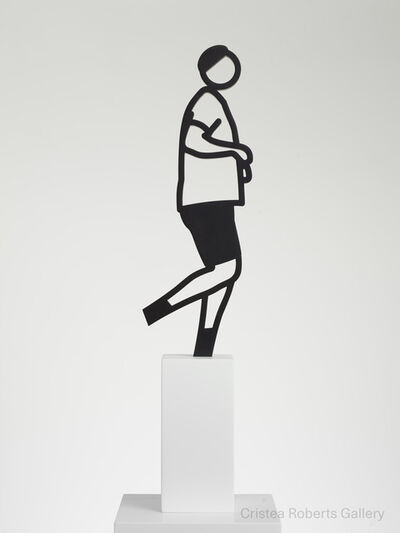 Julian Opie, 'Running People: Elvis', 2020