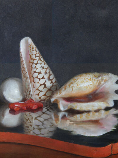 Helen Oh, 'Seashells on a Lacquer Tray', 2019