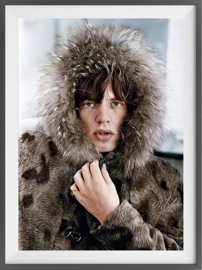 Terry O'Neill, 'Mick Jagger, colourised', 1964