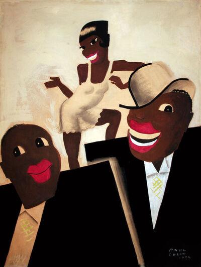 Paul Colin, 'Revue Negre - Original Painting - Josephine Baker - Jazz', 1925