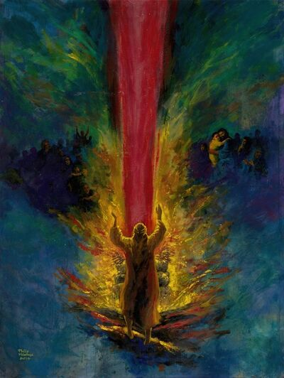 Philip Mantofa, 'ELIJAH – THE FATHER HEART 以利亞-天父的心', 2017
