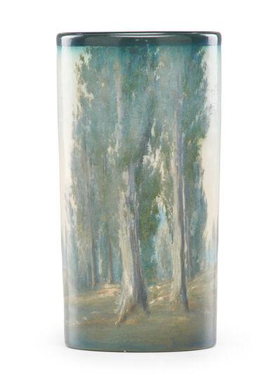 Ed Diers, 'Banded Scenic Vellum vase (uncrazed)', 1916
