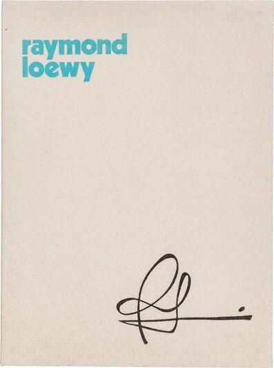 Raymond Loewy, 'Portfolio', 1978
