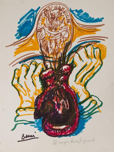 Antonio Berni, 'Al campeón le ponen los guantes', 1977