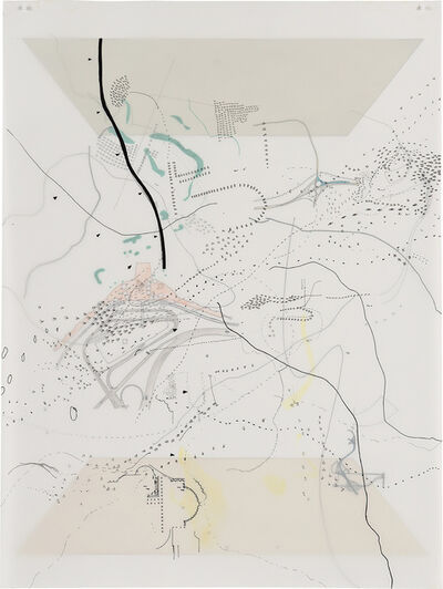 Julie Mehretu, 'Untitled (Court)', 1998