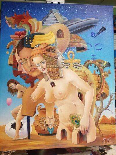 Efren Montiel, 'Ancestros', 2020