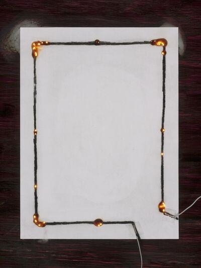 David Goldes, 'Electro-graph #3 (three cornered rectangle)', 2012