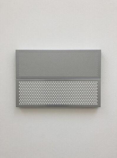 Kristján Gudmundsson, 'White Painting in Grey Frame', 2014