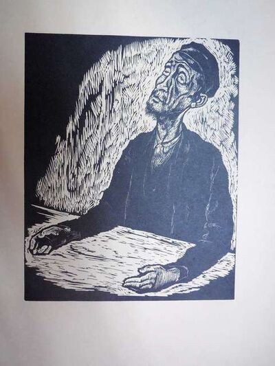 Arthur Kolnik, 'Expressionist Portrait', 1930-1939