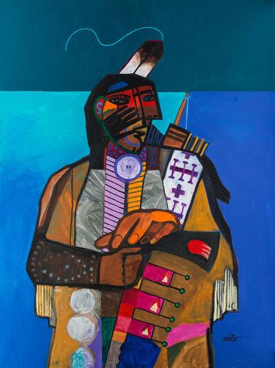 John Nieto, 'Man Above', 2017
