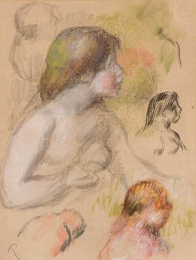 Pierre-Auguste Renoir, 'Etudes de Femme Nue', circa 1895