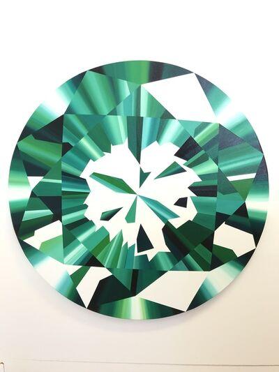 Kurt Pio, 'Green Round Diamond', 2019