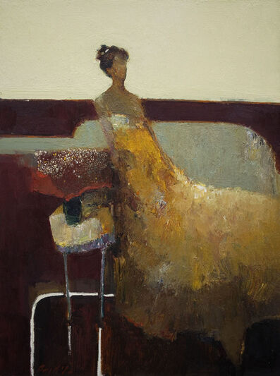Danny McCaw, 'Gold Dress', 2015