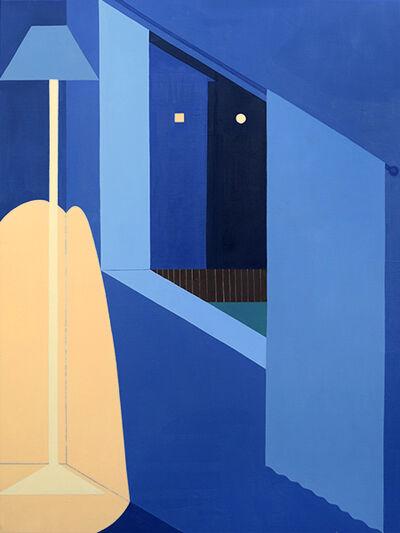 Adrian Kay Wong, 'Lamp, Window, Moon', 2018