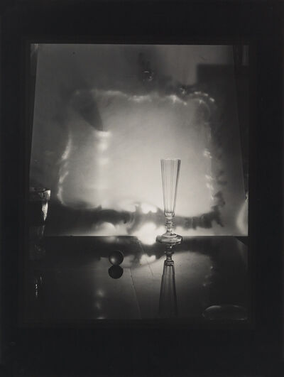 Josef Sudek, 'Still life with glass and marble.', 1963-66