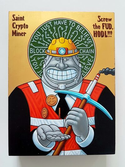 Aleksandar Todorovic, 'St Crypto Miner', 2020