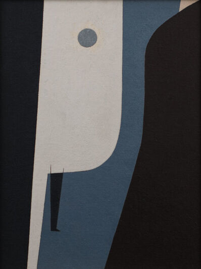 Charles Green Shaw, 'Non-Objective Arrangements in Black, White, Gray', 1940
