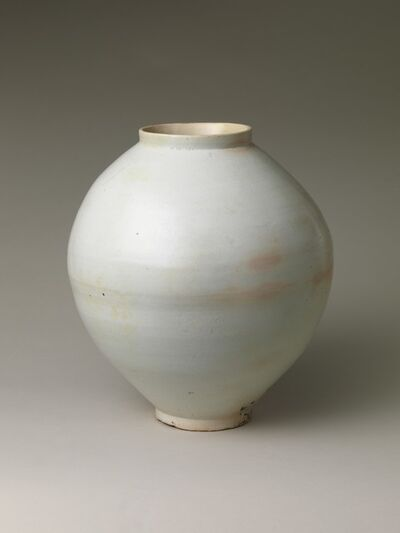 Unknown Korean, 'Moon Jar (백자 달항아리 조선|白磁壺 朝鮮)', second half of the 18th century