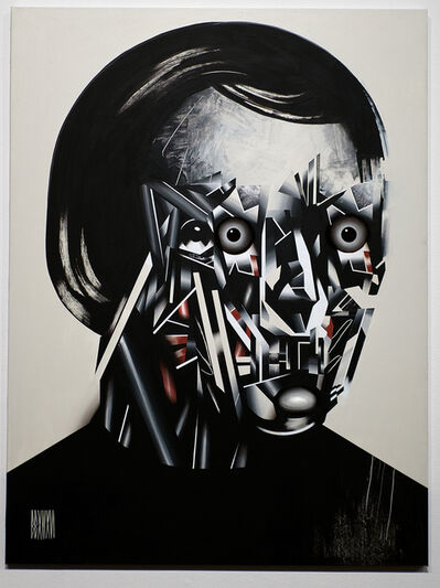 Bohdan Burenko, 'HEAD No. 9', 2016