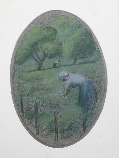 Julio González, 'Paysans dans une prairie', ca. 1919