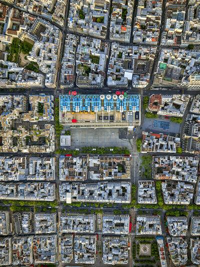 Jeffrey Milstein, 'Centre Pompidou', 2019