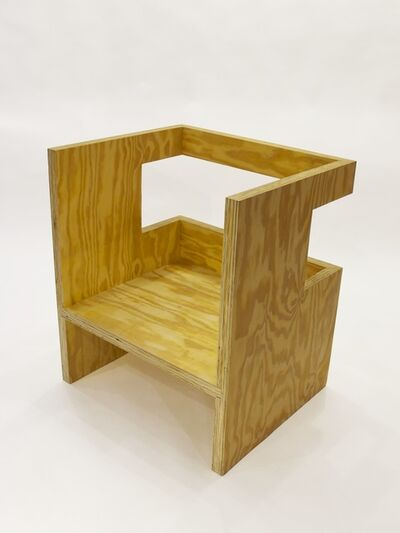 RO/LU, 'Cube Chair (+ Subtraction)', 2010