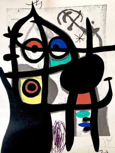 Joan Miró, 'La Captive (The Captive)', 1969