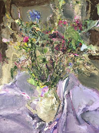Johannes Heisig, 'Gartenblumen I (Flowers)', 2018