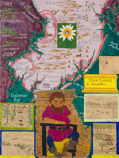 Joyce Kozloff, 'The Giant of New Jersey', 2017