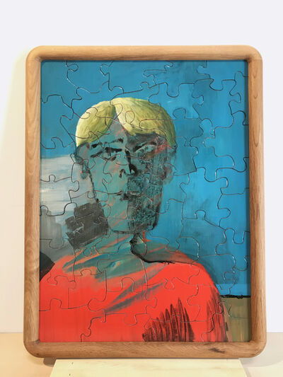 Tyler Hays, 'M. Crow Jigsaw Puzzle #199 'Boy in Red Shirt'', 2019