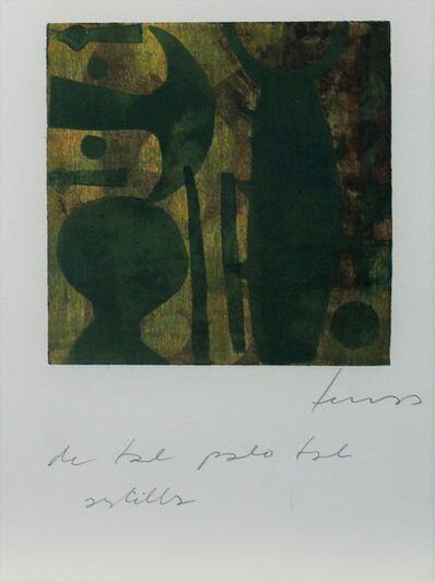 Damián Lescas, 'De tal palo tal astilla', 2019