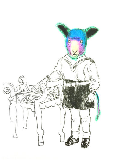 Hanna Ilczyszyn, 'Sheep', 2015