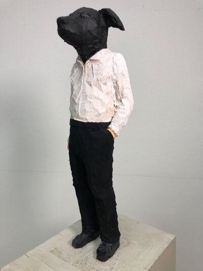 Stephan Balkenhol, 'Hundemann', 2019