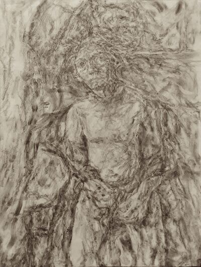 John Mulvaney, 'Self Portrait, Seated'