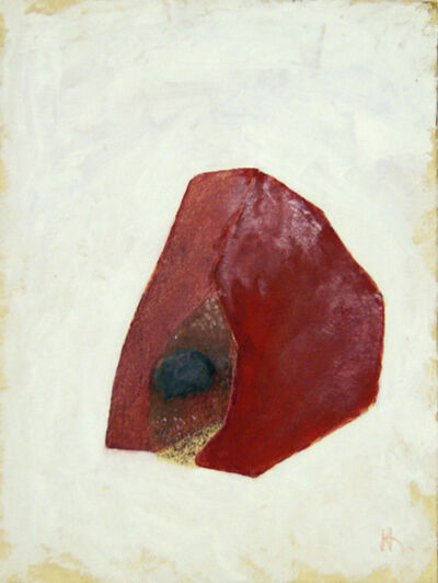 Naum Gabo, 'Untitled (composition in red)', ca. 1969