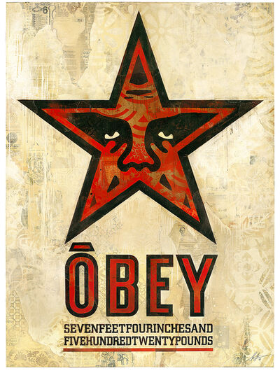 Shepard Fairey, 'OBEY Star', 2018