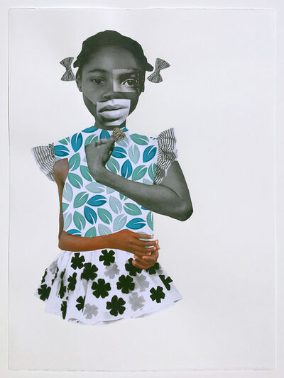 Deborah Roberts, 'Filling in the Gaps', 2018