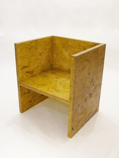 RO/LU, 'Cube Chair OSB', 2010