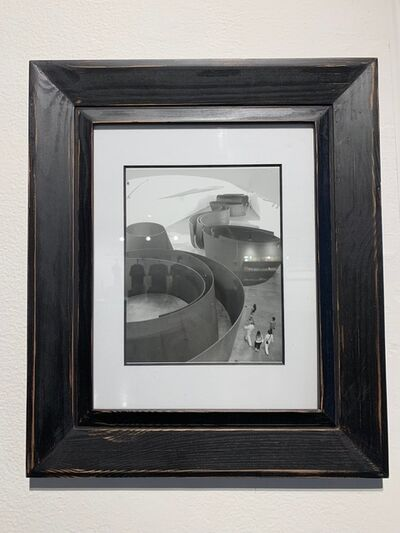 Lj., 'photograph framed in black', 2012