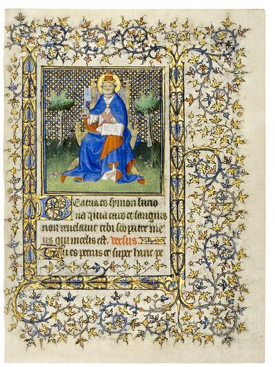 Mazarine Master, 'St. Peter with key and tiara', 1408
