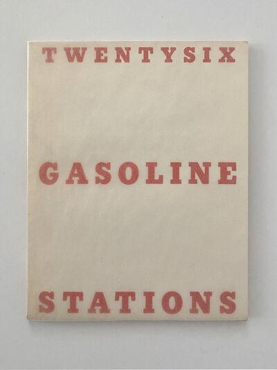 Ed Ruscha, 'Twentysix Gasoline Stations', 1963