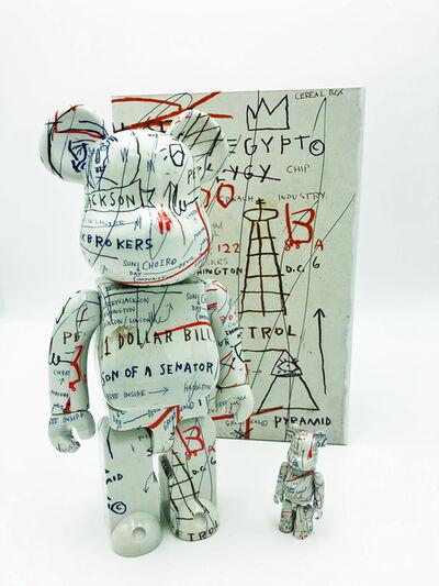 After Jean-Michel Basquiat, 'Medicom 400% & 100% Bearbrick set', 2018