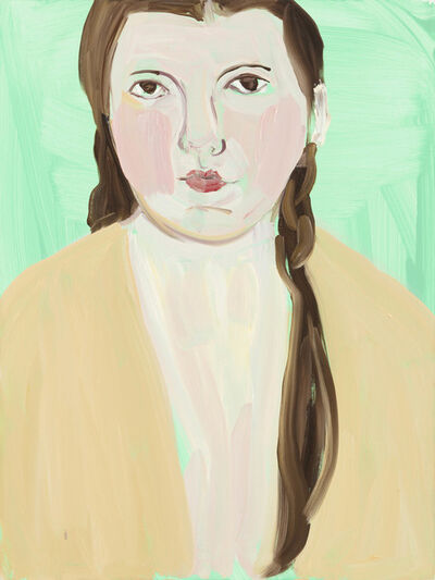 Chantal Joffe, 'BELLA IN YELLOW', 2016