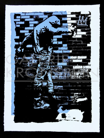 Blek le Rat, 'The King of Chicago', 2017