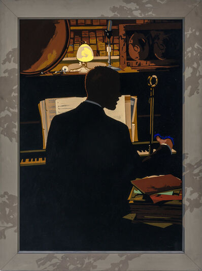 Matthew Benedict, 'His Lordship at the Piano', 2004