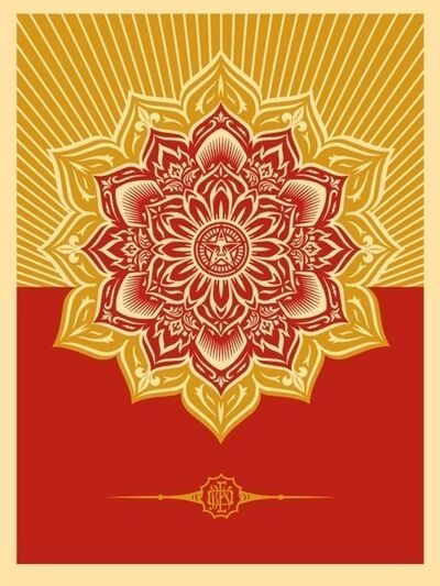 Shepard Fairey, 'Mandala (Holiday Variant)', 200