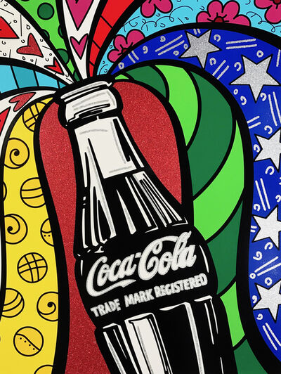 Romero Britto, 'Coca-Cola I - Sharing', 2016